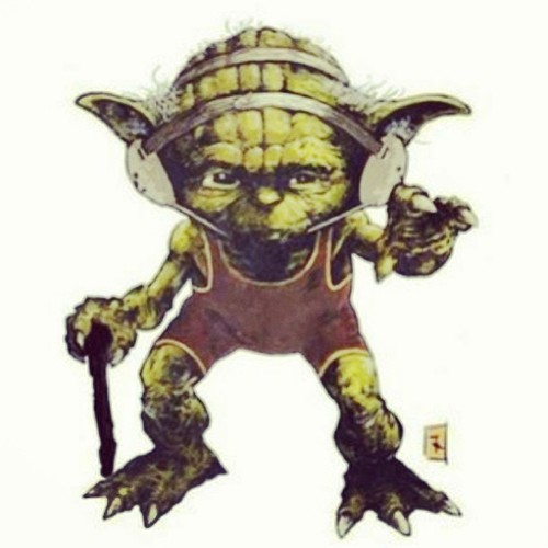 May the force be with you #yoda #headgear #singlet #wrestling...